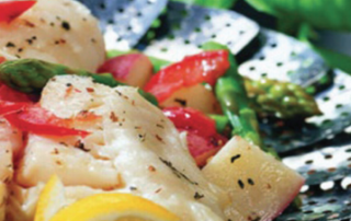 Quick Steamed Fish Fillets
