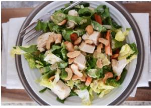 Keep Well Society Chicken Cashew Salad Recipe