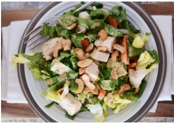 Keep Well Society Chicken Cashew Salad Recipe